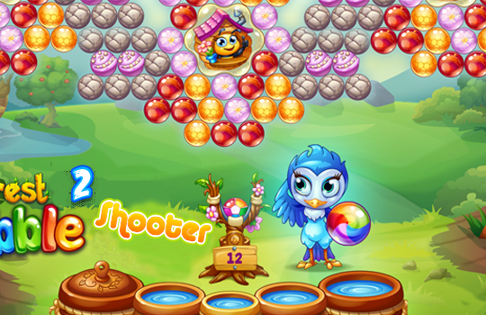 forest bubble shooter 2