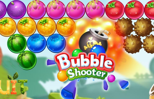 Bubble Shooter Fruit Puzzle