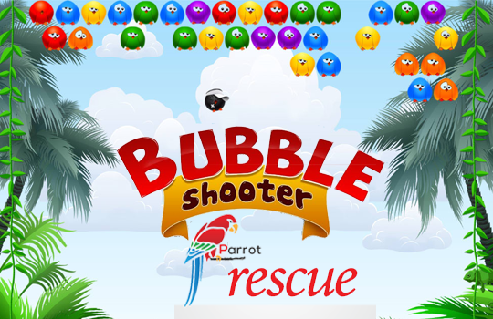 Bubble Shooter Parrot Rescue