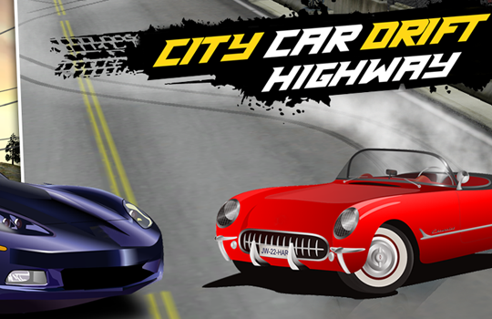 City Car Drift Highway