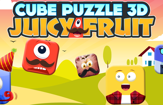 Cube Puzzle3D Juice Fruit