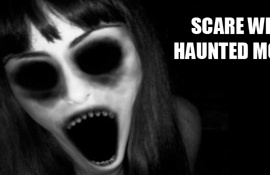Scare with Haunted Mobile Prank