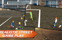Futsal Street League Soccer screen shoot 3 Rangii Studio
