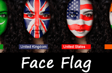 Face-Flag android app source code