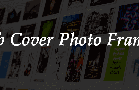 Fb Cover Page Photo Art Frames Banner