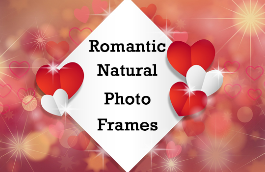 Romantic Natural Photo Frames
