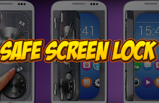 safe screen lock old phone dailer