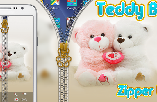 teddy bear zipper