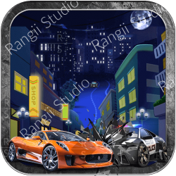 Police Chase - Car 3D 3c