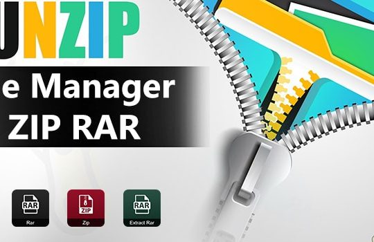 File-Manager-ZIP-RAR Android App Source Code