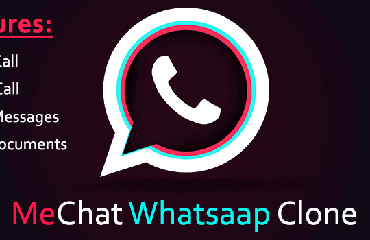 MeChat Live Chat - WhatsApp Clone