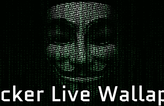 Hacker Live Wallpaper Rangii Studio
