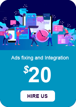 Ads fixing and Integration