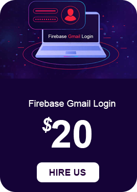 Firebase Gmail Login Services