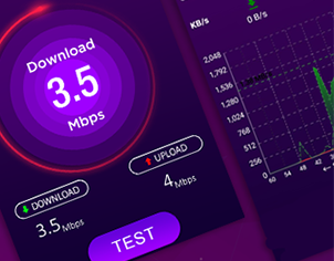 Internet Speed Testing Ready to Publish App