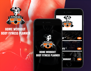home workout and Body Fitness android App Ready to Publish