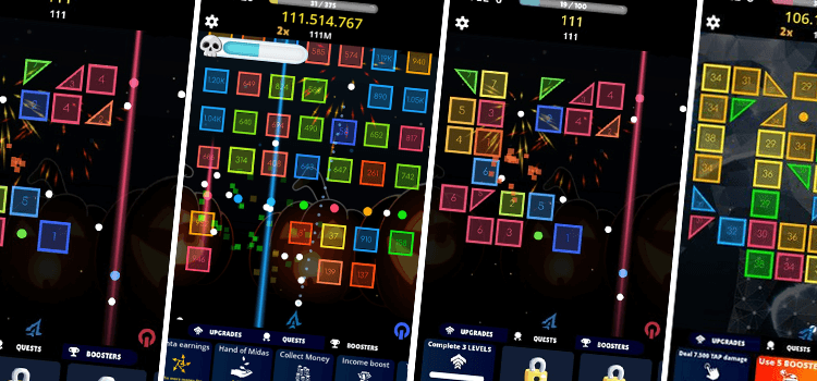 Bricks Breaker Puzzle Game Source Code unity Game Android