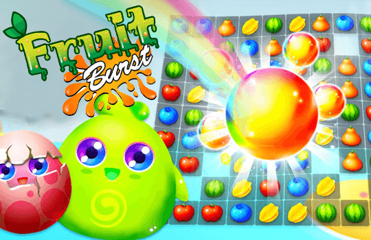 fruit burst Source Code Unity Game