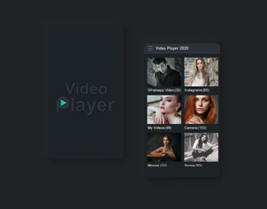 All Video Player - Plat HD Format Video Feature