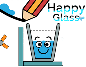 Happy glass feature banner