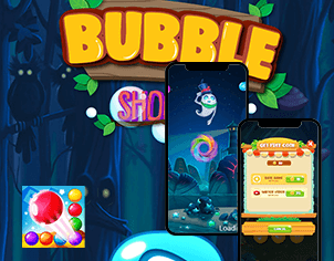 Bubble Shooter Feature banner