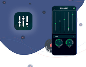 Bass booster equalizer top feature banner for android