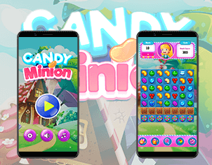 Candy Crush top feature banner for android