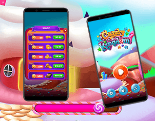 Candy Wish top feature banner by Rangii Studio