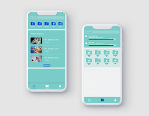 File Manager top feature banner for android