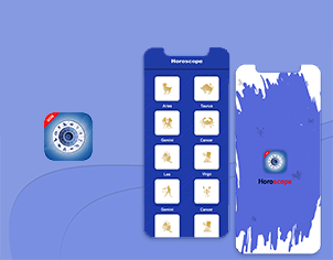 Horoscope top feature banner for android