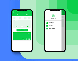 Voice & Language Translator top feature banner for android