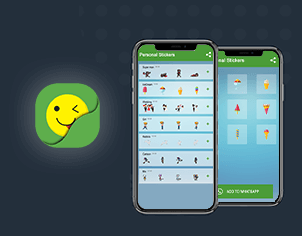 WhatsApp stickers top feature banner for android