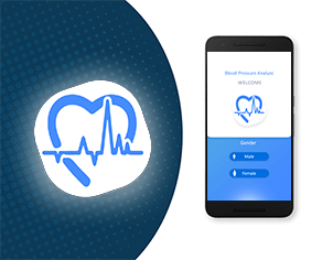 Blood Pressure Tracker top feature banner for android