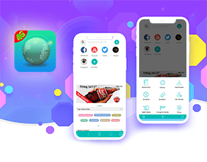 Browser top feature banner for android