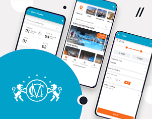 Hotel Booking top feature banner for android