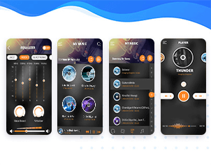 Music player & equalizer top feature banner