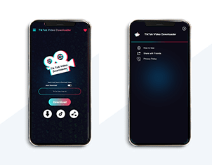 Tik Tok top feature banner for android