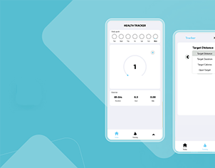 Health tracker top feature banner