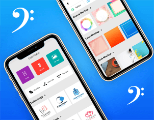 Logo maker top feature banner for android