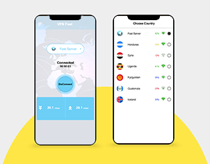Proxy master vpn top feature banner for android