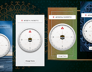 Digital Compass top feature banner for android