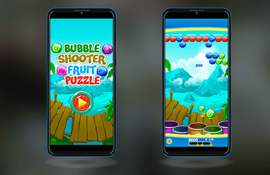 Bubble Shooter Banner