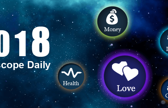 Daily horoscope banner