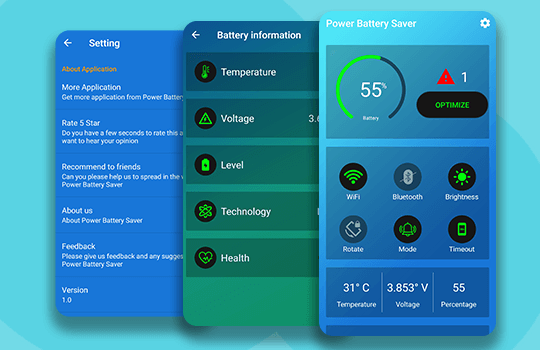 Ultra battery Saver Banner