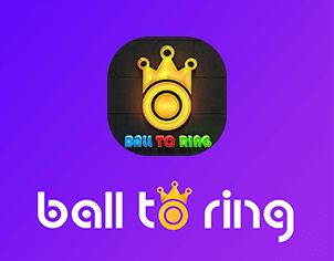 Ball to Ring Game outer feature banner