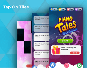 Piano Magical Tiles 2 Game feature banner