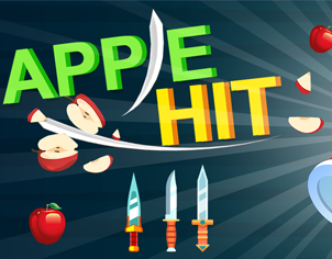 Master Knife Hit Game outer feature banner