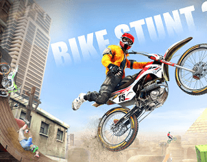 Amazing Bike Stunt Racing Game Outer banner