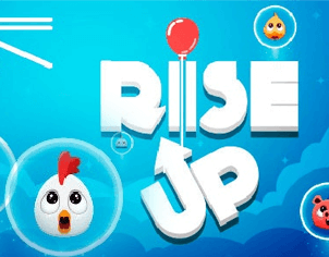Rainbow Balloon Protect Rise Up top feature